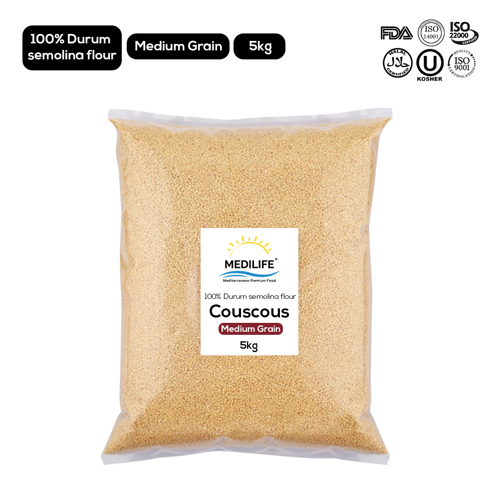 Whole Wheat Couscous 5kg Bag