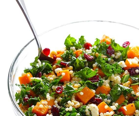 Butternut-Squash-Kale-and-Cranberry-Couscous-9