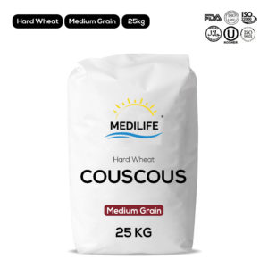 Hard wheat couscous - Medium grain - 25kg