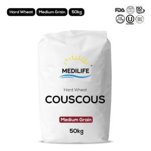 Hard wheat couscous - Medium grain - 50kg