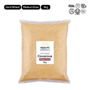 Couscous Hard Wheat Meduim Grain 5 kg