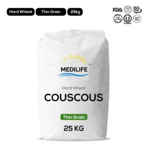 Hard wheat couscous - Thin grain - 25kg