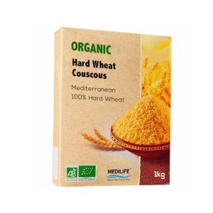 Organic Hard Wheat 1 kg Carton packing