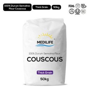 Whole Hard wheat couscous - Thick grain - 50kg