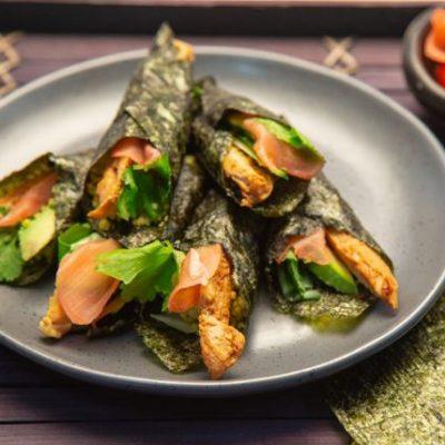 couscous sushi
