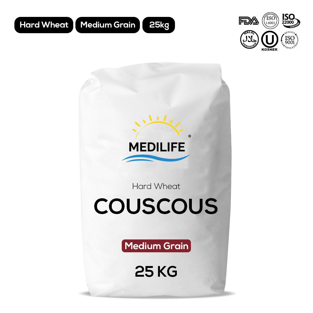 Hard Wheat Couscous 25kg Bag