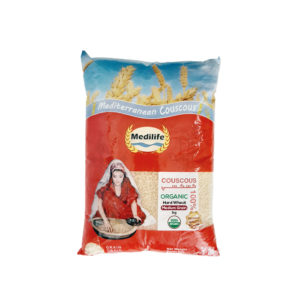Organic Hard Wheat Couscous 1kg Bag