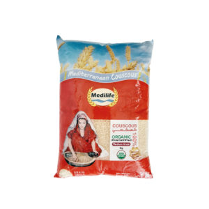 Organic Whole Wheat Couscous 1kg Bag