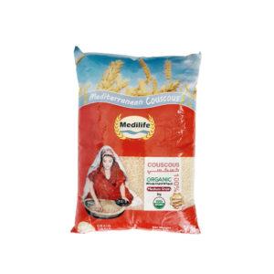 Organic Whole Wheat Couscous 1kg Bag