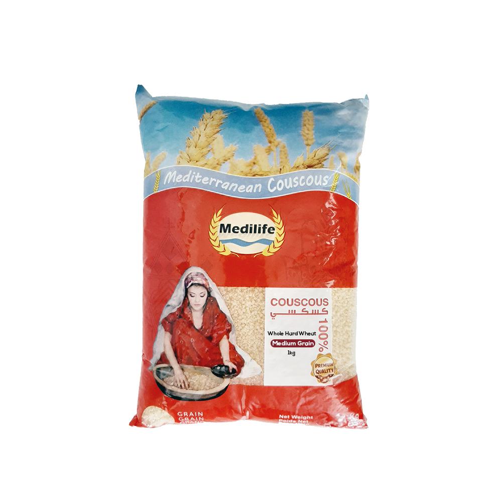 Whole Wheat Couscous 1kg Bag