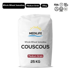 Whole Wheat Couscous 25kg Bag
