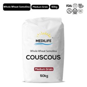 Whole Wheat Couscous 50kg Bag