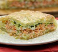 Couscous and Salmon Russian Kulebyaka