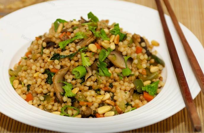 Chinese Pearl Couscous Salad